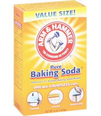 baking soda thông cống