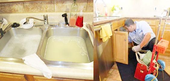 dịch vụ thông nghẹt bồn rửa bát