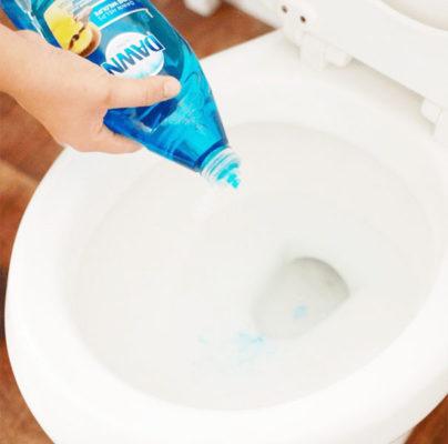 nước rửa bát thông cống
