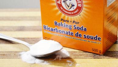 dung dịch thông cống tự làm từ muối và baking soda