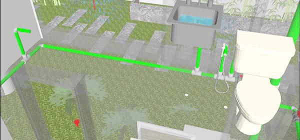 hướng dẫn lắp đặt đường ống thoát nước trong nhà đơn giản