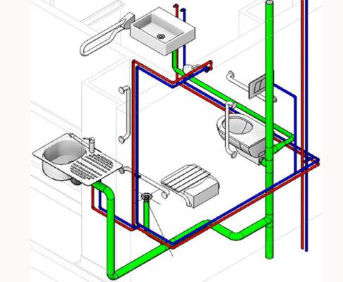 cách lắp đặt ống thoát nước trong nhà hạn chế bị nghẹt