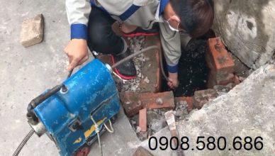 Dịch vụ thông cống nghẹt tại KCN Đông Xuyên uy tín
