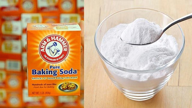Thông cống nghẹt bằng baking soda