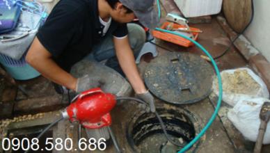 Quy trình thông cống nghẹt tại KCN Mỹ Xuân B1 – Đại Dương
