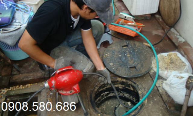Quy trình thi công dịch vụ hút hầm cầu tại Côn Đảo