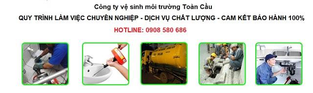 Quy trình thông cống nghẹt tại Tổ hợp lọc hóa dầu Long Sơn