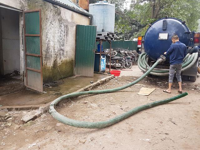 Quy trình thi công dịch vụ hút hầm cầu